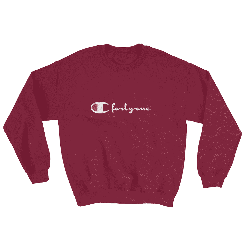 C-41 Sweater in maroon